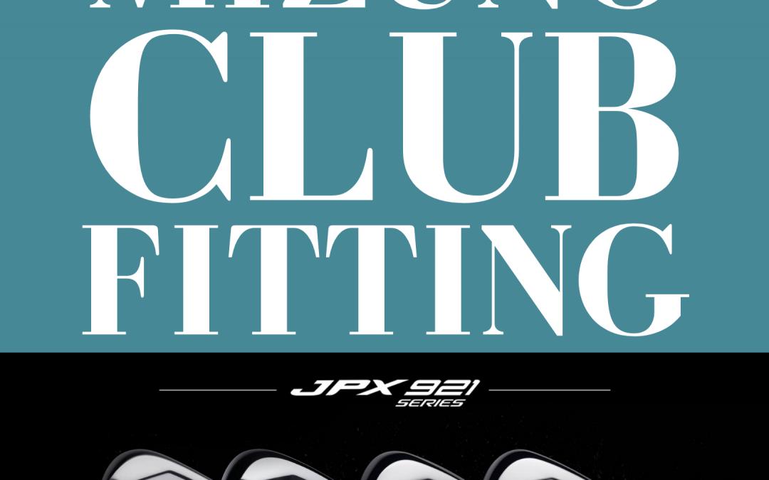 Mizuno Club Fitting Day